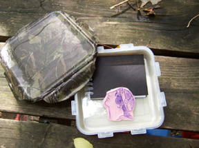 Letterboxing box