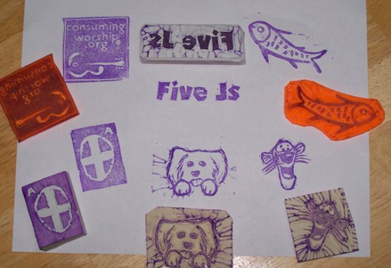 Letterboxing stamps