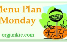 Monday Meal Plans