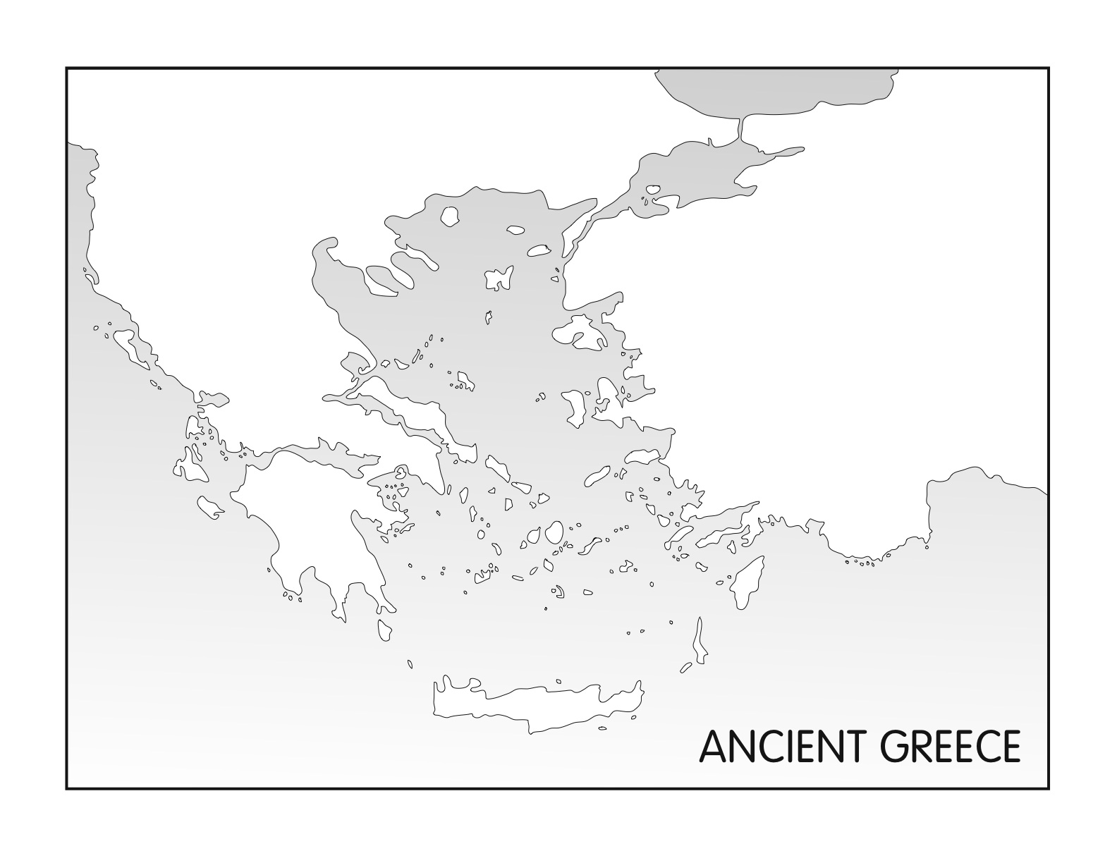 Outline Maps Ancient Egypt And Greece Five Js Homeschool - Blank map of the world for students