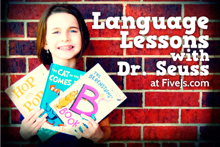Dr. Seuss Homeschool Language Arts Lessons