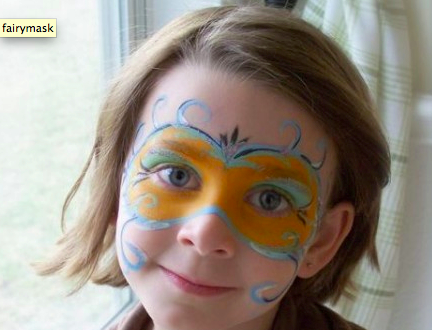 Fairy Face Painting