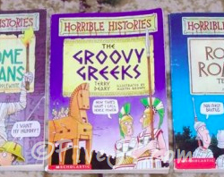 Horrible History Books