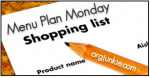 Meal Plan Shopping List