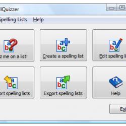 Spell Quizzer online