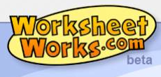 Worksheet website