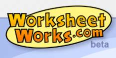 WorksheetWorks.com, High-Quality Worksheet Generator - Five ...