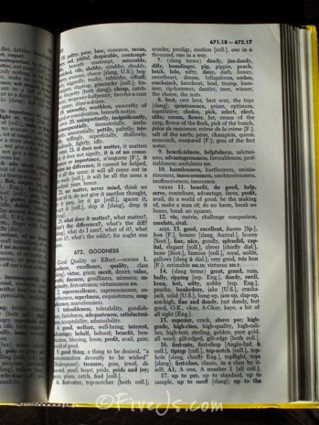 thesaurusentry
