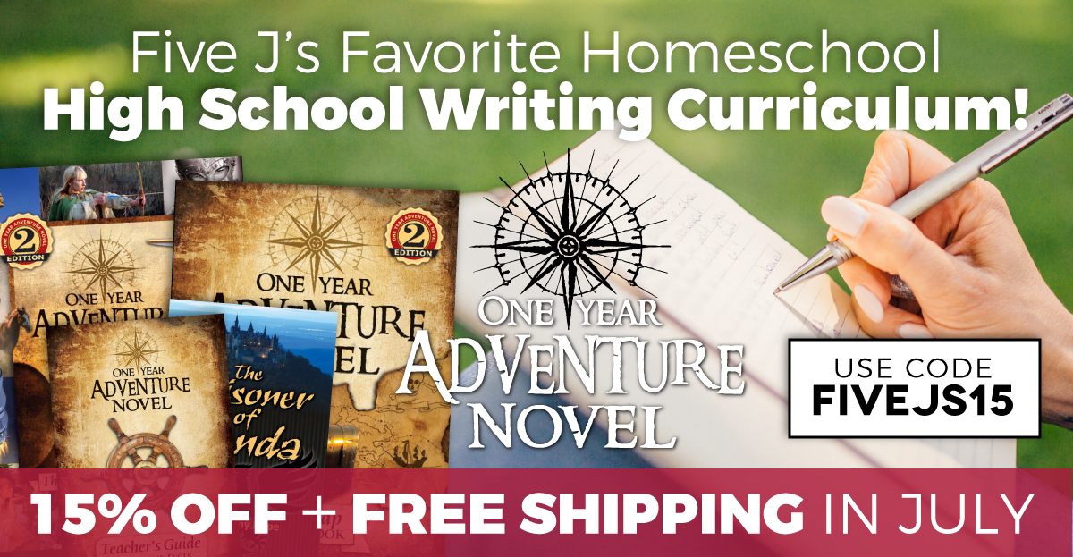 One Year Adventure Novel Coupon Code July 2018
