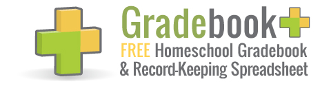 Free Homeschool Gradebook and Record-Keeping Spreadsheet Template