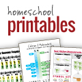 Free Downloads and Printables for Homeschooling