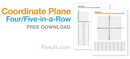 picture regarding Cartesian Plane Printable named Cartesian Coordinate Airplane Printable Math System Recreation toward