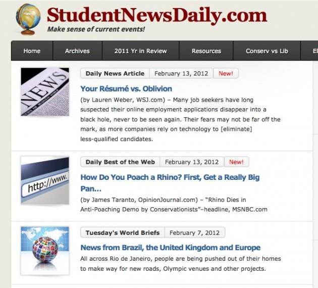 Daily Viral News Home: How To Incorporate Current Events Into Your Homeschool Day
