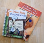Homeschool Geography Curriculum: Eat Your Way Around the World and Geography Through Art