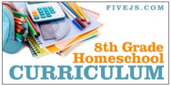 Our 8th Grade Homeschool Curriculum Five Js Homeschool