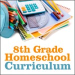 8th grade homeschool curriculum