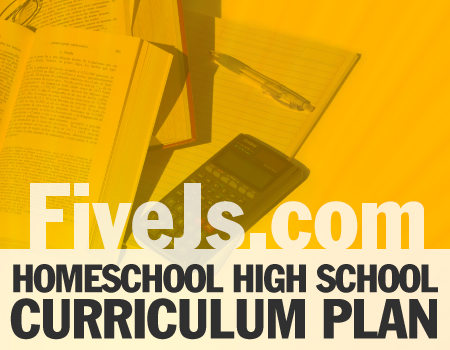 homeschool high school curriculum plan