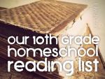 high school reading book list for homeschool