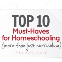 top-ten-must-have-homeschooling