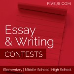 Great list of essay & writing contests for elementary, middle school, and high school students