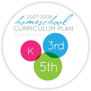 K-3-5 grade homeschool curriculum