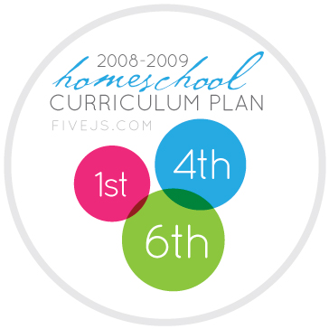1-4-6 grade homeschool curriculum