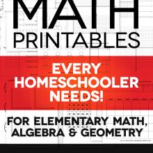 Free Math Printables Every Homeschool Needs!