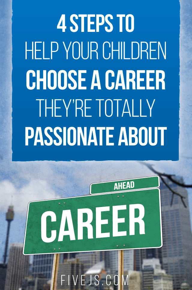 A 4-step plan to help your child choose a career. #homeschool