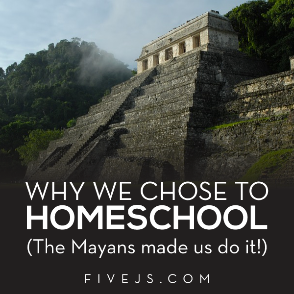 Why Joy of Five J's chose to homeschooler her 3 children. Almost unwillingly! #homeschool