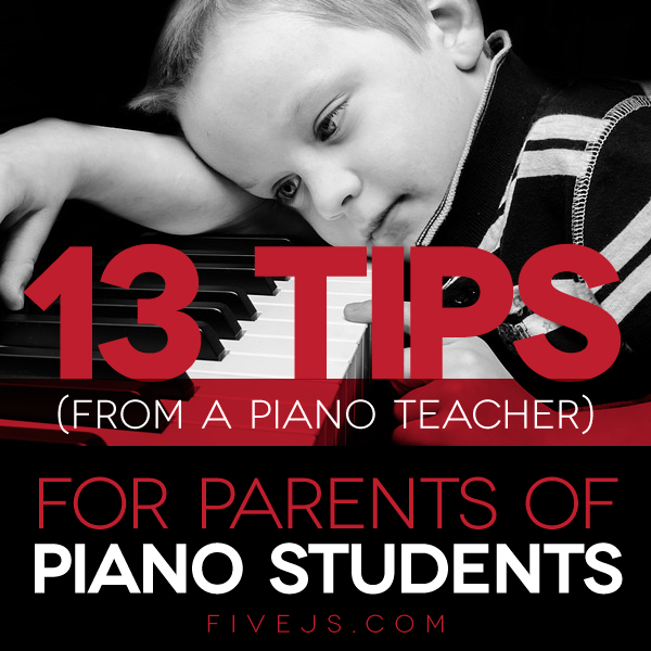 Great tips to help your child succeed with piano lessons. #piano #homeschool