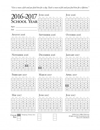 2016-2017-printable-school-calendar-SAMPLE-BLANK