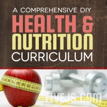 Create your own health & nutrition curriculum from a variety of resources. FiveJs.com #homeschool