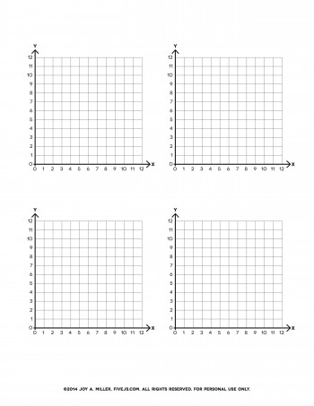 Math printables set