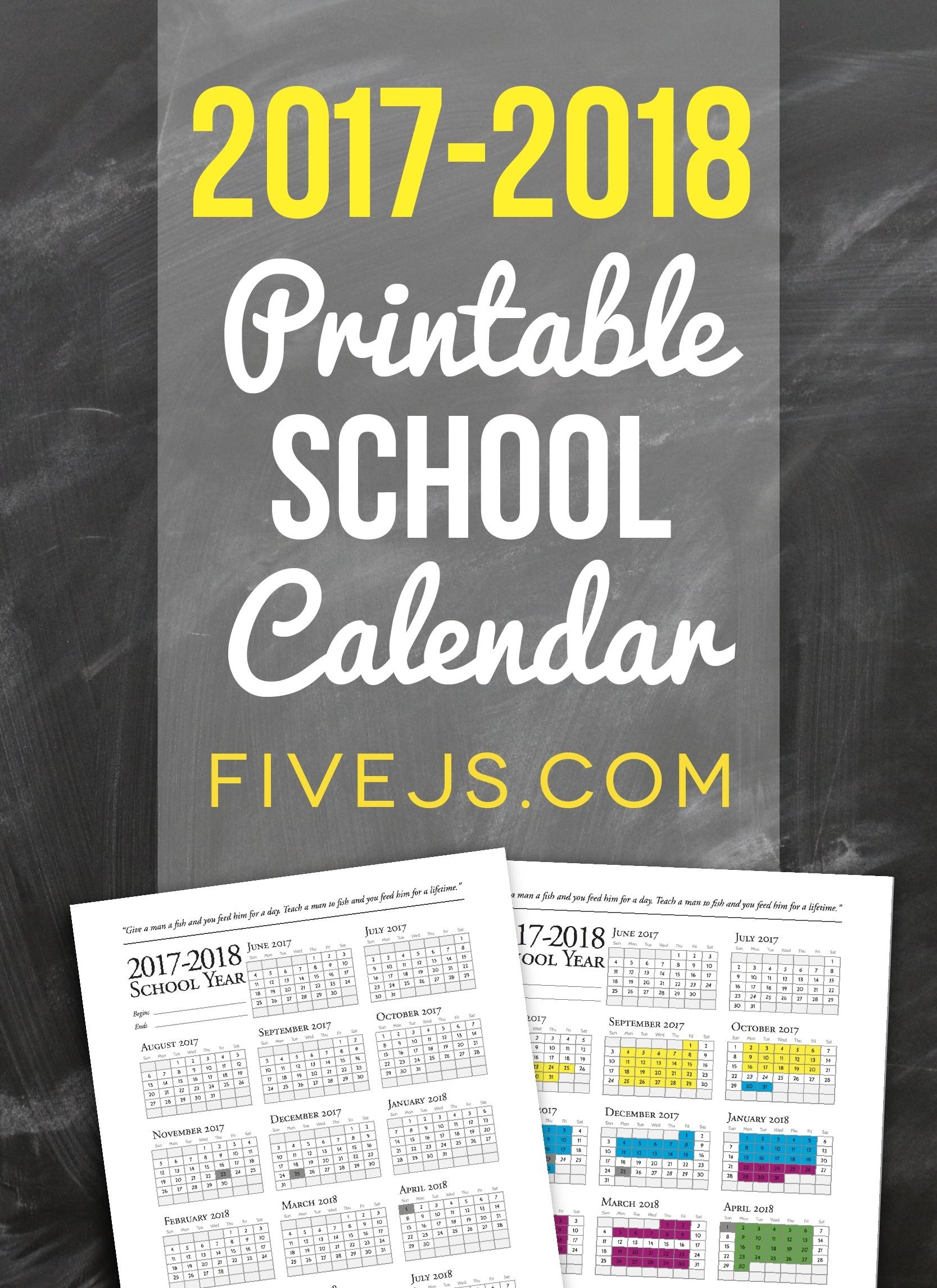 2017-2018-printable-school-calendar_tall